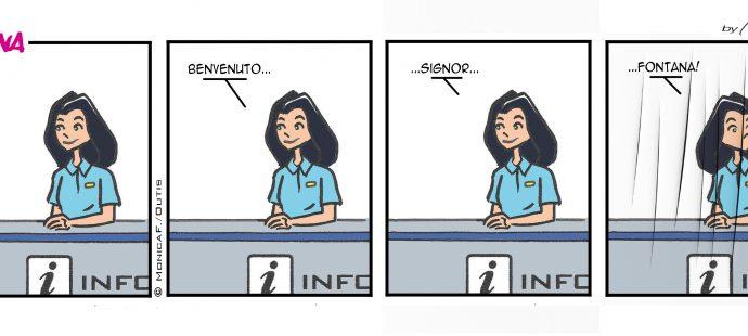 Xtina comic strip: Welcome