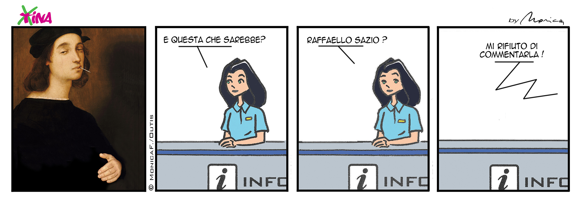Xtina sunday comics strip