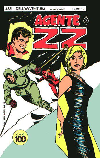 Fumetti italiani vintage: Agente ZZ